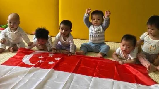 Singapore National Day Celebration at Camelot Infant