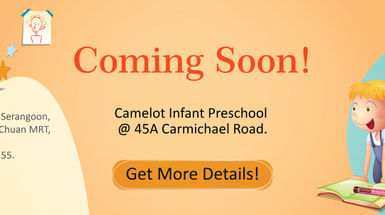 Camelot Infant Preschool Coming Soon!